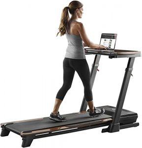 treadmill desk platinum