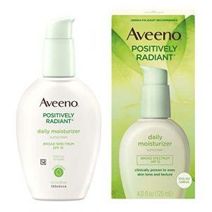 Aveeno Positively Radiant Daily Facial Moisturizer Reviews